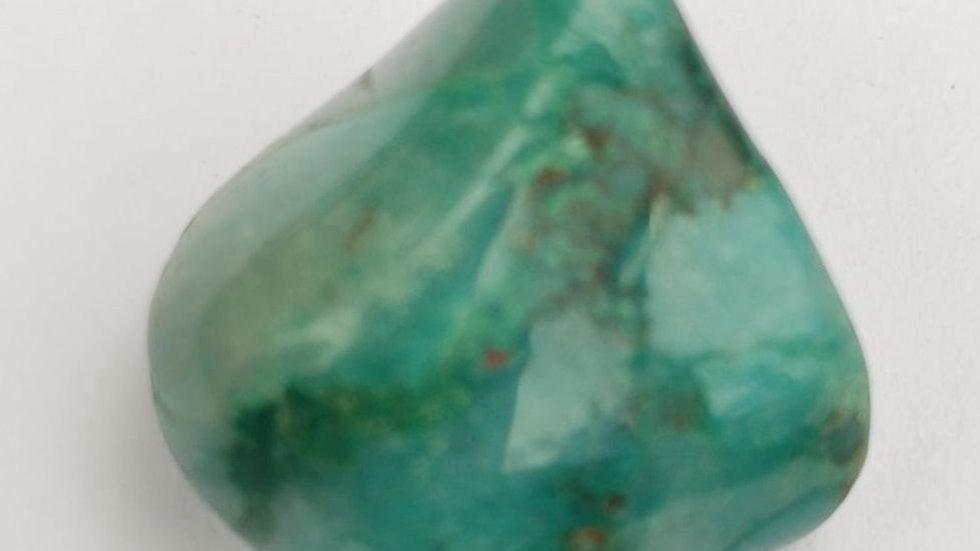 Ajoite 1.5cm tumble stone, very rare