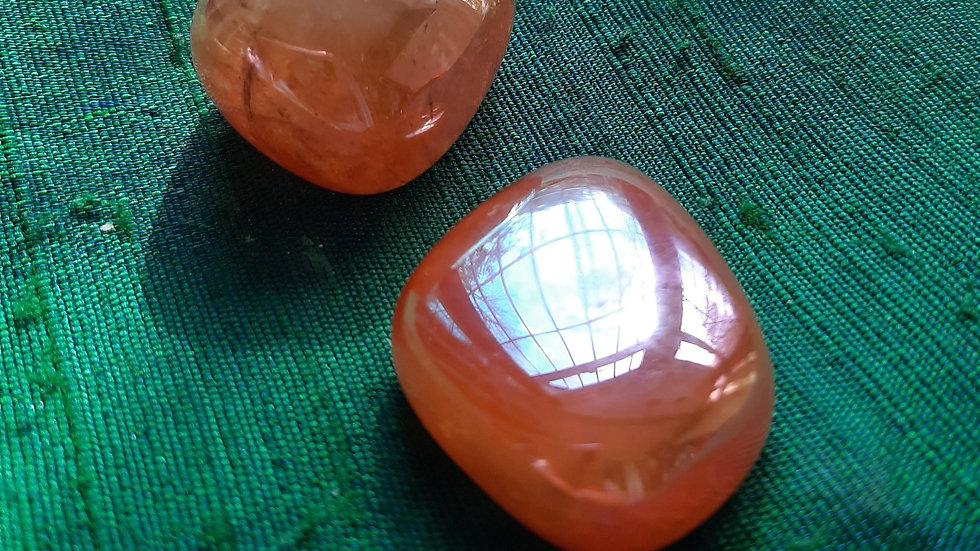 Tangerine Aura Quartz