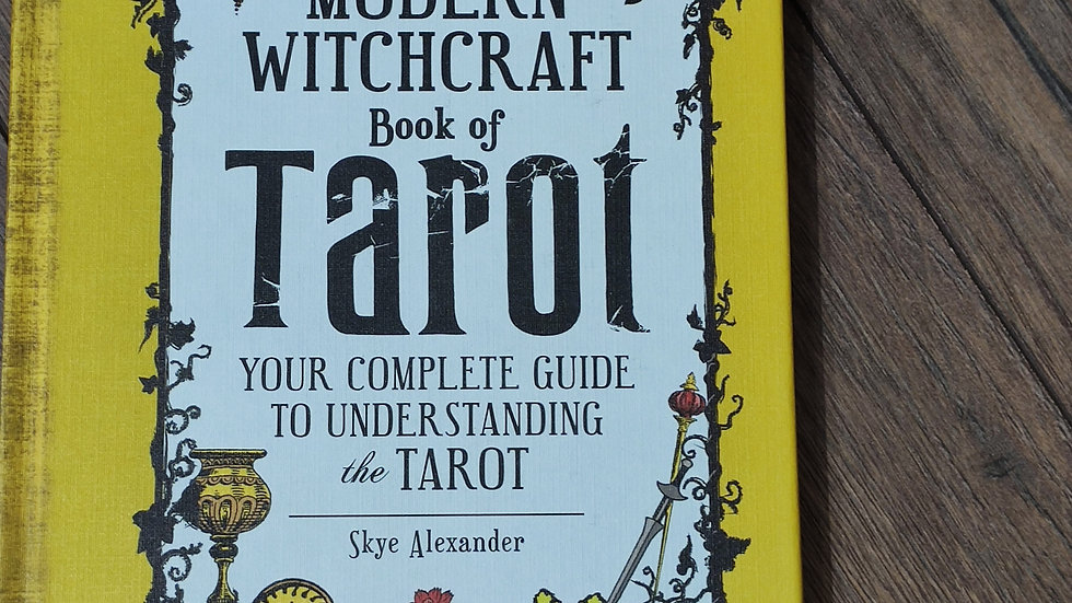 The Modem Witchcraft Book of Tarot