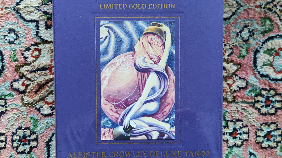 Alister Crowley deluxe Tarot, Limited Gold Edition