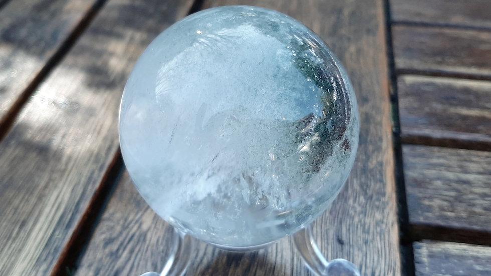 Dendritic Quartz Crystal Ball