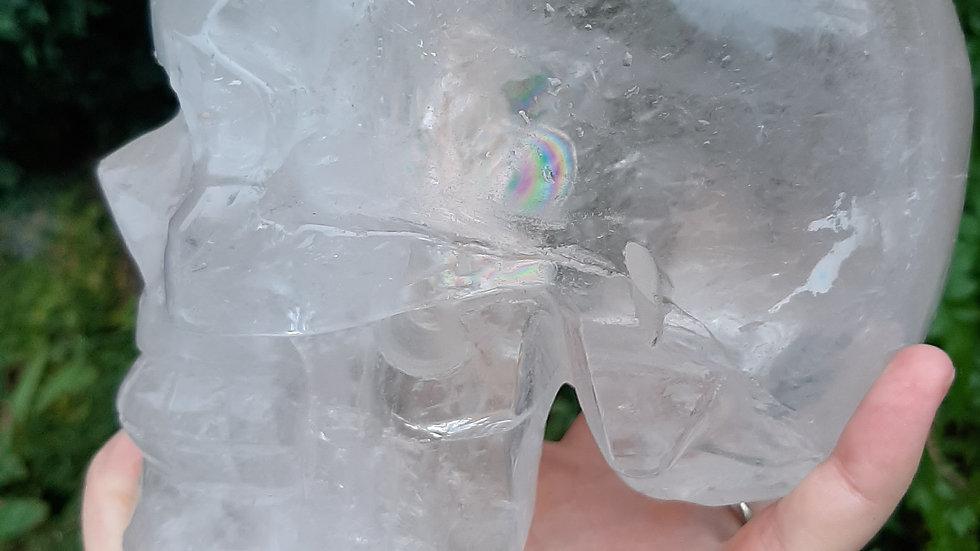 Crystal, Quartz Large Skull 2.74 kilos