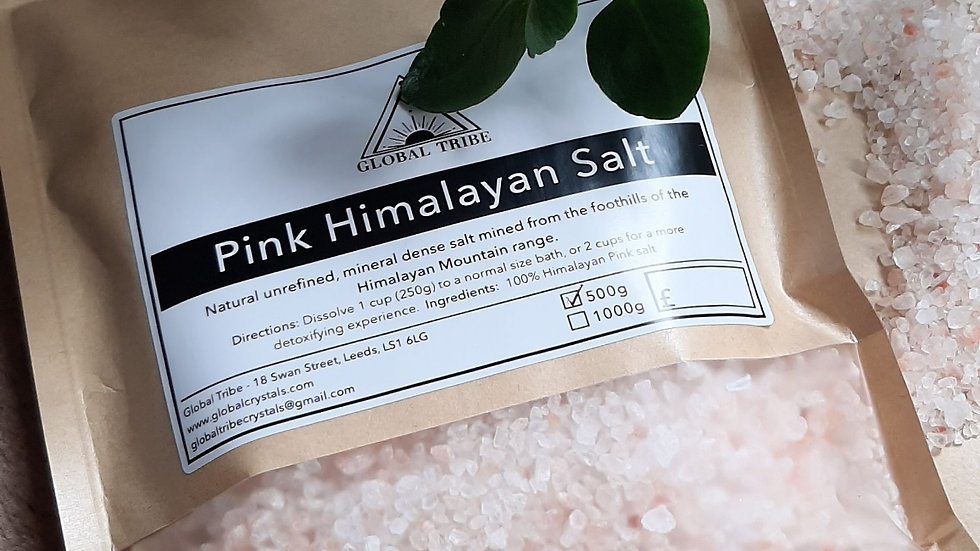 Pink Himalayan Rock Salt 500g