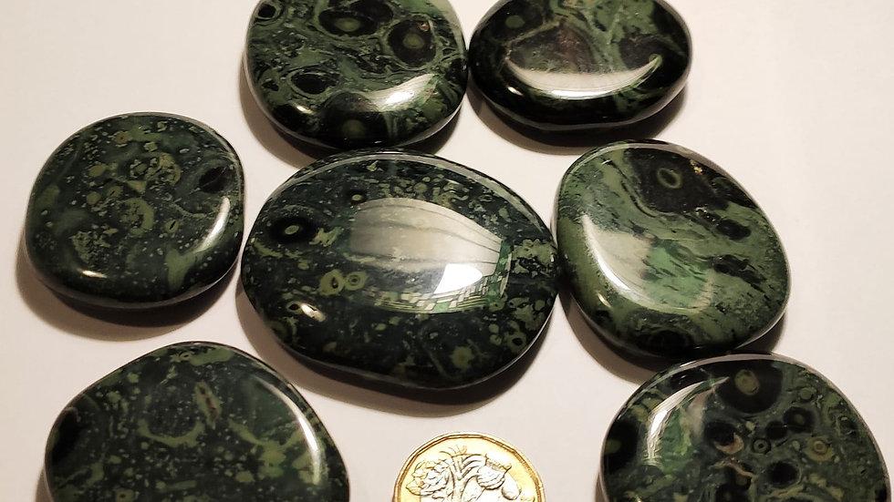 Kambaba Jasper palm stone, small