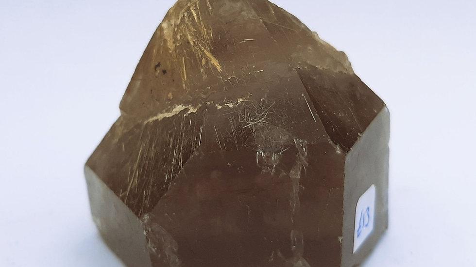 Rutilated Smokey quartz approx 4cm height