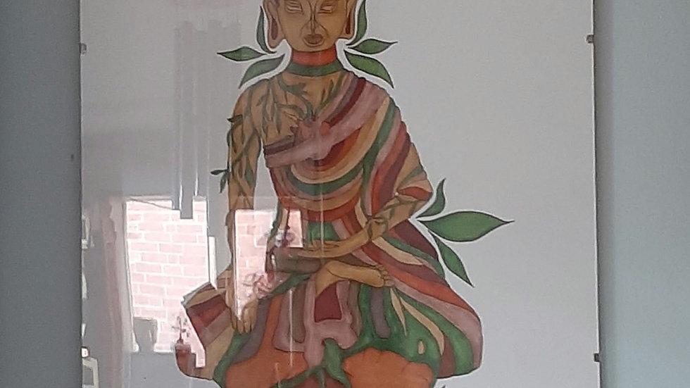 Buddha art print by Maja Novak