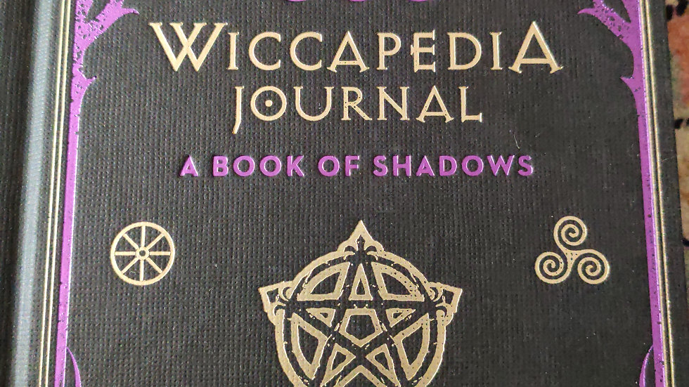 Wiccapedia Journal, A Book of Shadows