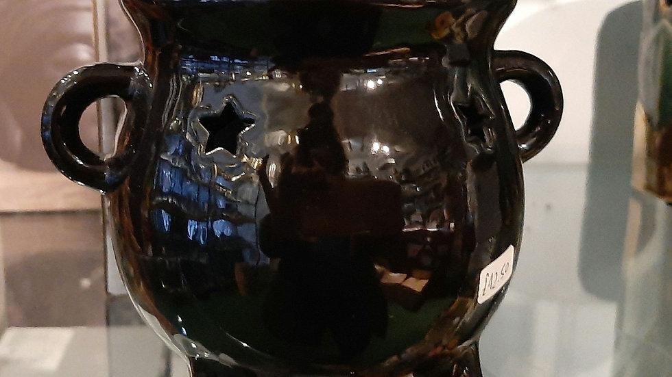 Cauldron oil burner, ceramic