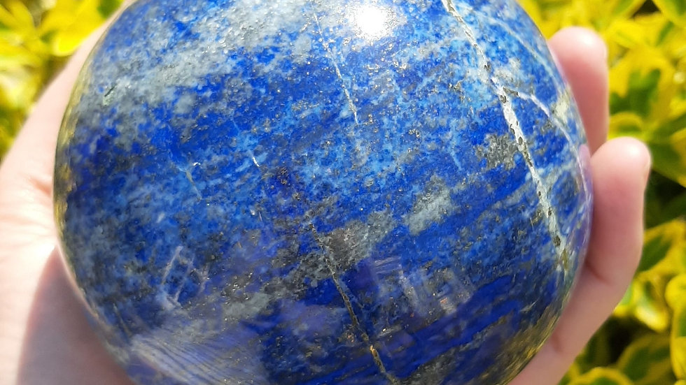 Large Lapis Lazuli Ball
