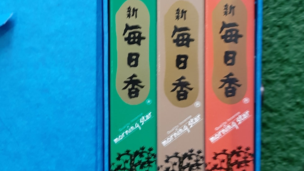 Pack of 3 Japanese incense