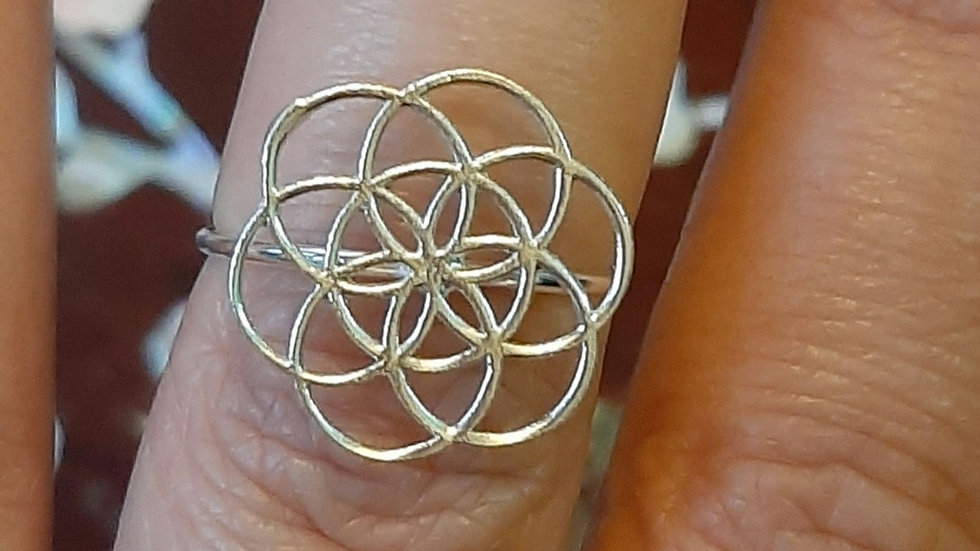 Flower of Life ring