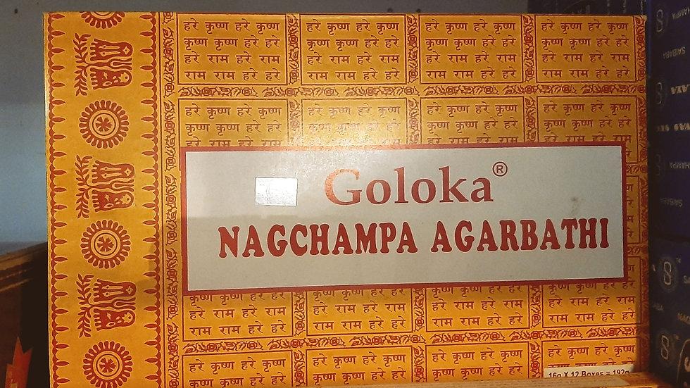 Bulk buy Goloka Nag Champa box of 12