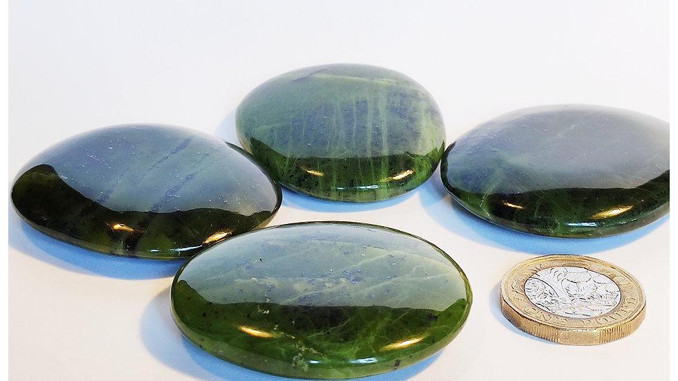 Nephrite Jade Palm Stone