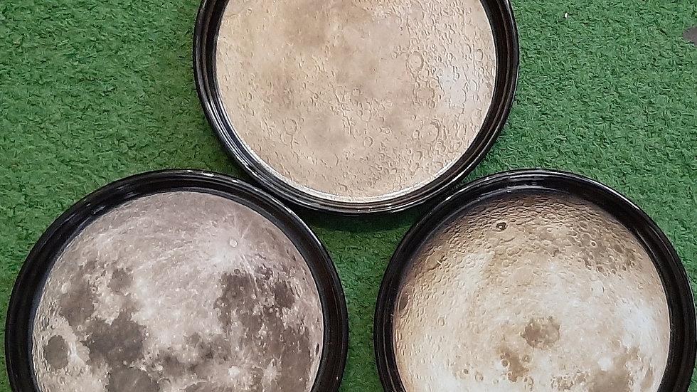 Full Moon plate, ceramic.