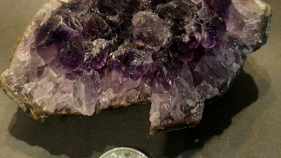 Amethyst cluster 10cm x 9cm