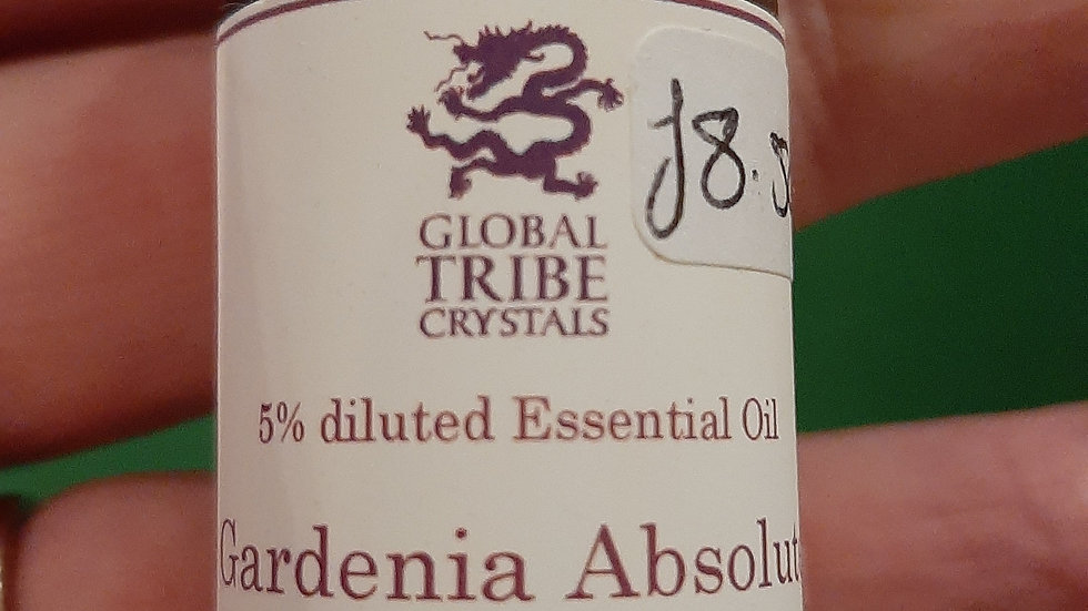 Gardenia Absolute 5% diluted with jojoba oil 10ml