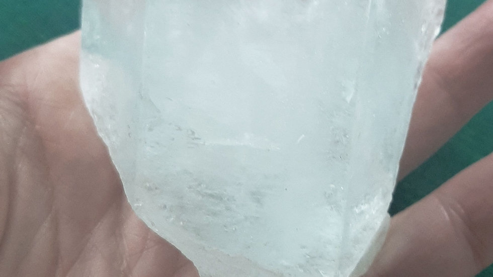 Large Aquamarine Crystal from Afghanistan