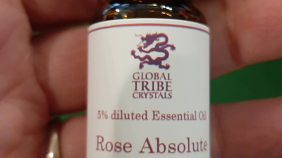 Rose Absolute 5% dilution with jojoba oil 10ml