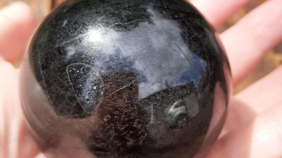 Black Tourmaline Ball 6cm diameter