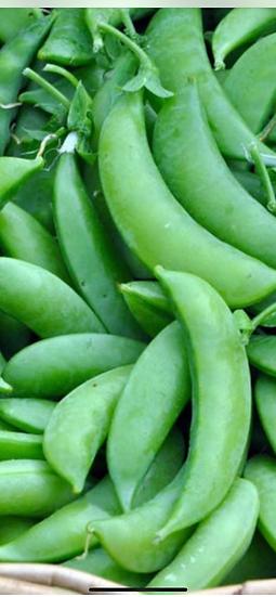 Sugar snap pea (whole pod is edible  5$ pint