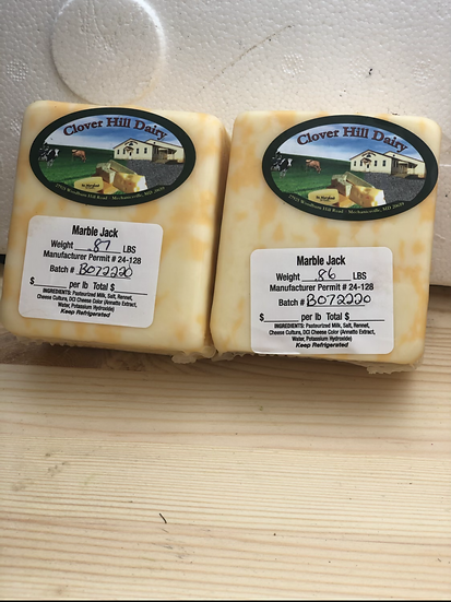 """Amish cheese """"Marble Jack """""""