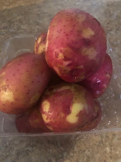Red new potatoes $5.00 qt
