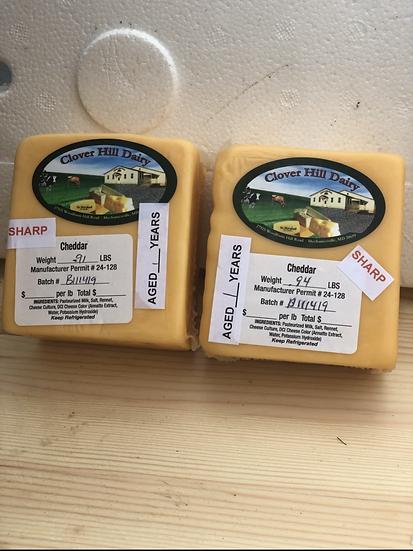 "Amish cheese ""Sharp Cheddar """