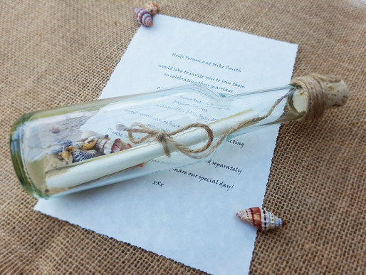 Message in a Bottle | Wedding Invitations