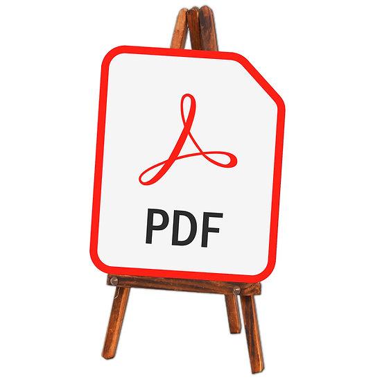 PDF Wedding Table Plan