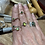 Thumbnail: Adjustable peridot and chrome diopside silver ring