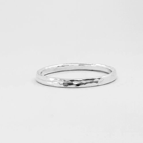 Silver Stacking Ring. 1.8mm thickness