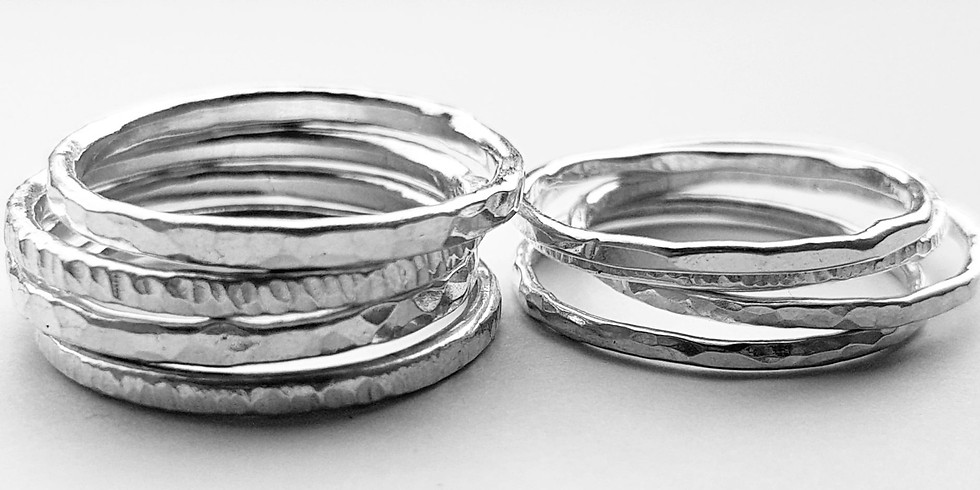 Tuesday eve -  stacking rings workshop - £30