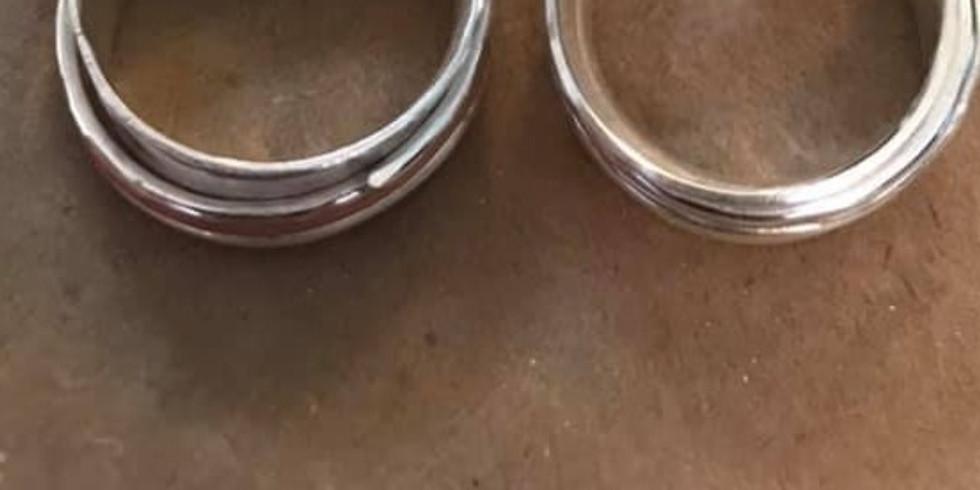 Saturday - Spinner ring workshop - £50