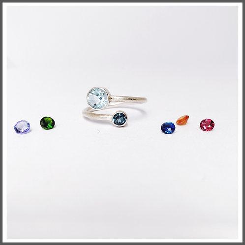 Mother & child adjustable ring