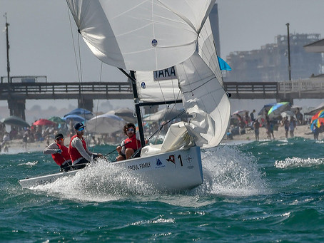 Four teams of RNZYS Youth Sailors taking on 53rd Annual Governor's Cup in California