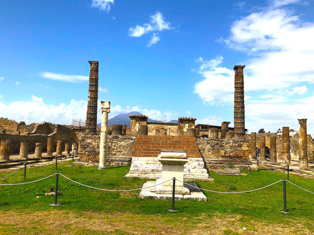 The Eerie Ruins of Pompeii, Italy