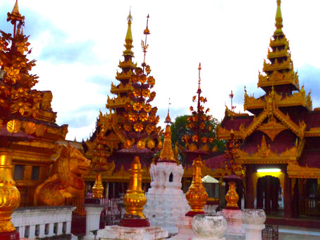 Gold and Enchanted - The Magic of Myanmar
