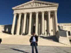 Man Standing at SC Building in DC