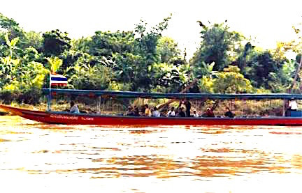 Pirates at Thailand's Golden Triangle