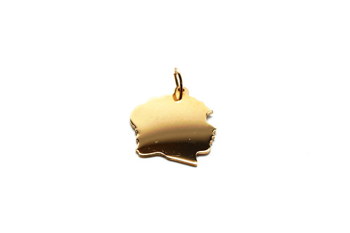 14 karat yellow gold pendant