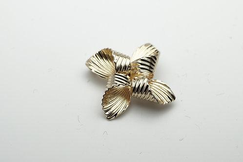 14 karat yellow gold pin