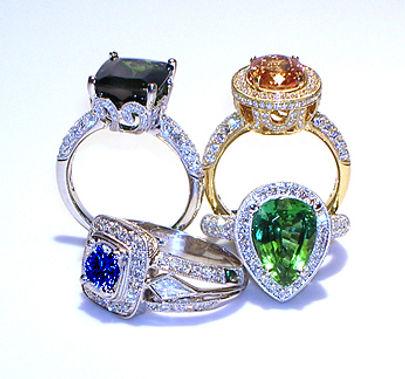 gemstones, tourmaline, citrine, sapphire