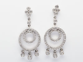 Curt Parker Jewelers diamond earrings