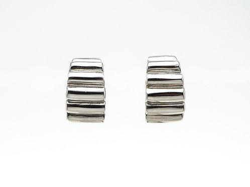14 karat white gold earrings