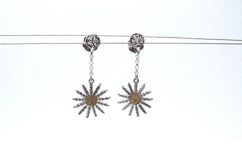 Sterling Silver Sunshine Earrings