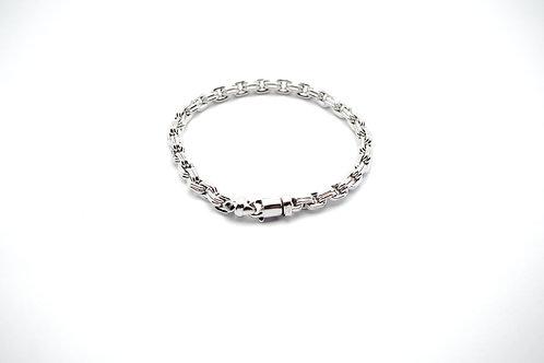 18 karat white gold bracelet