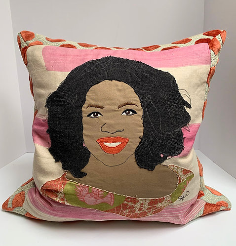 One of a kind Oprah pillow