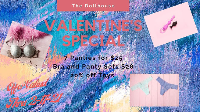 Pink Photo Valentine's Day Sale Twitter
