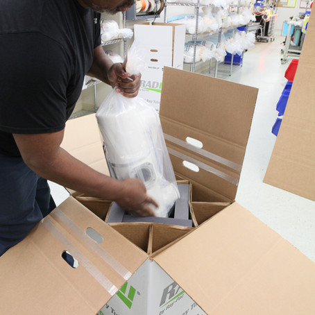 Packaging is a Number One critical quality step.