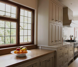 Custom cottage kitchen